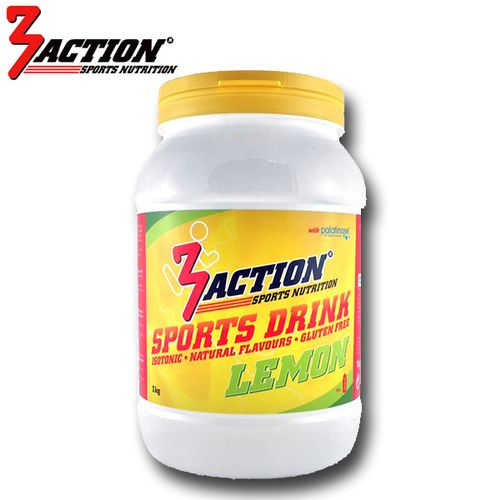 3 ACTION SPORTS DRINK 1KG - LEMON
