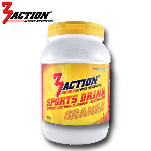 3 ACTION SPORTS DRINK 1KG - ORANGE