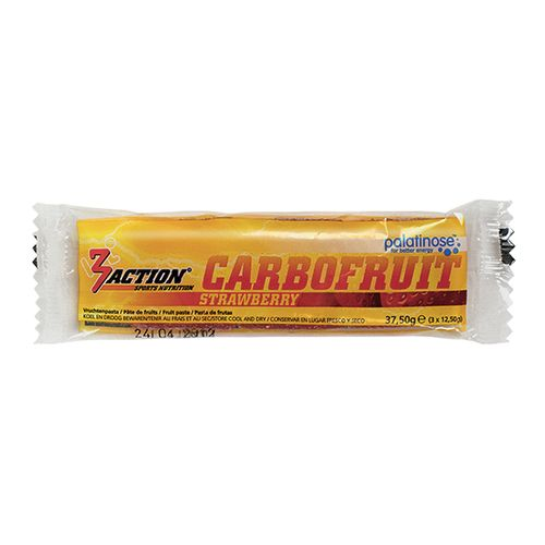 3 ACTION CARBOFRUIT 37,5GR - STRAWBERRY