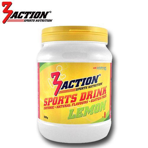 3 ACTION SPORTS DRINK 500GR - LEMON
