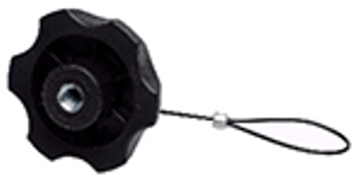 FOLLOW ME KNURLED/BLACK NUT M8 SAFETY CORD