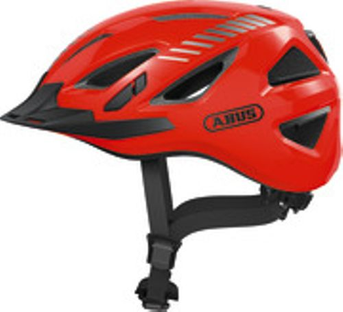 HELM ABUS URBAN-I 3.0 SIGNAL SIGNAL ORANGE M 52-58
