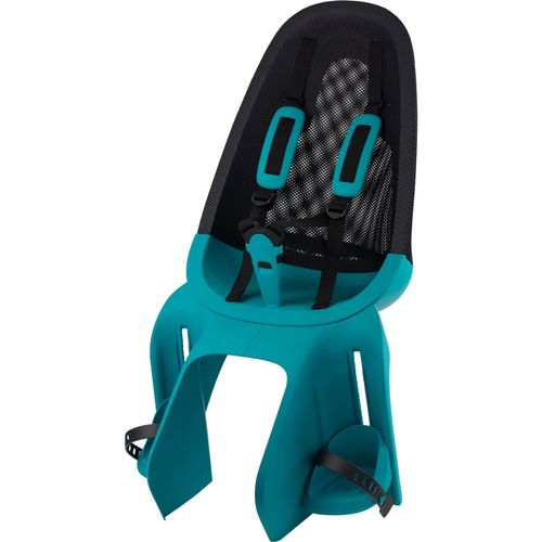Qibbel achterzitje Air drager bev turquoise