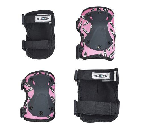 Micro Knee-/ Elbow Pad M Pink - set