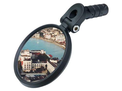 Meachow e-bike spiegel klein rond in stuur zwart