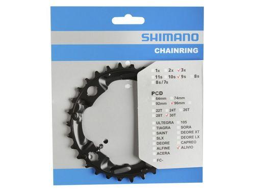 Shimano kettingblad 30t alivio fc-m4000 zwart