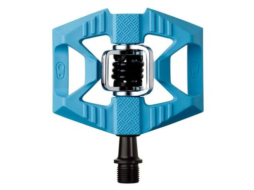 Crankbrothers pedaal double shot 1 licht blauw / z