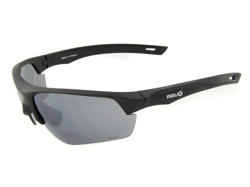 Agu bril medina zwart bifocaal +2.00 incl.transpar
