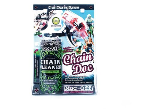 Muc-off chain cleaner + chain doc kettingreiniger