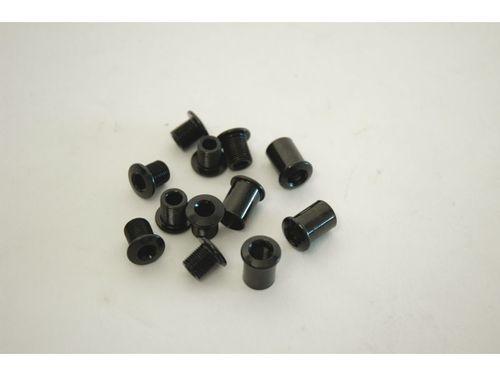 Truvativ bladboutjes 4 arm 8,5mm downhill staal zwart