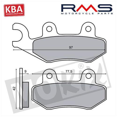 Remblokset RMS (Kymco Agility) KBA