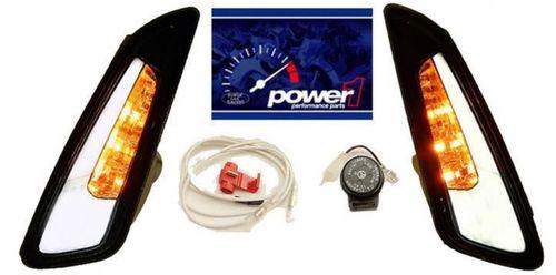Knipperlichtset Vespa Sprint Primavera voor Power 1 smoke led tube