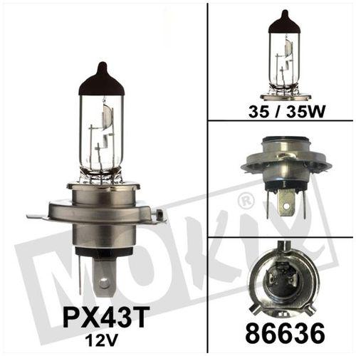 Lamp Bollard PX43T 12V 35/35W HS1