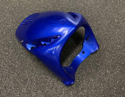 Voorkap Piaggio Zip Mat-Blauw Origineel Gebruikt