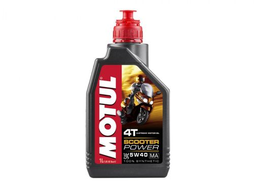 Motul Scooter Expert Olie 4T 5W40 100% Synthetic