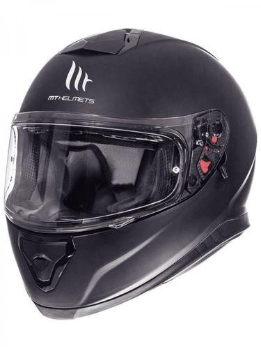 Helm MT Thunder III SV Solid Mat-Zwart - XL