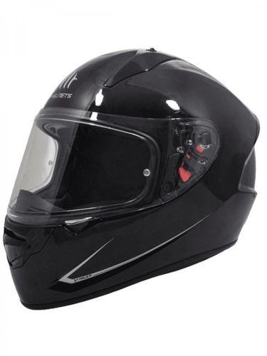 Helm MT Stinger Solid Zwart Glans - XL
