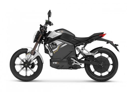 Super Soco TSX 45km, Silver/Black