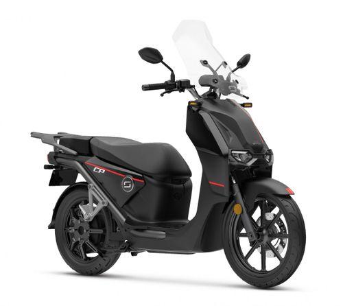 Super Soco CPX 45km E-scooter, Zwart
