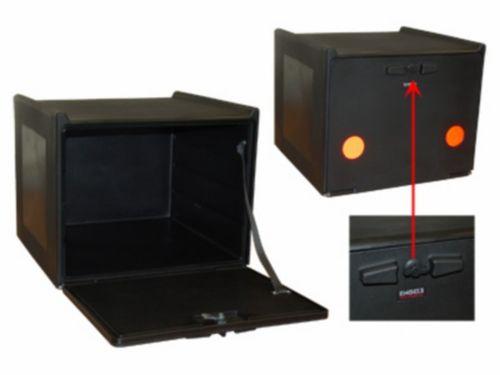 Pizzakoffer compleet geisoleerd 90L zwart
