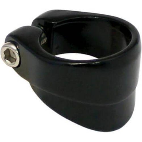 Union zadelpenklem 34.9mm kraag zwart