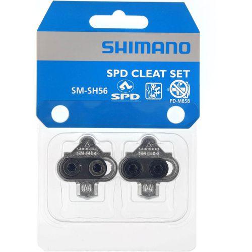 Schoenplaatjes SM-SH56 Spd Multi Release Z/Borgpl