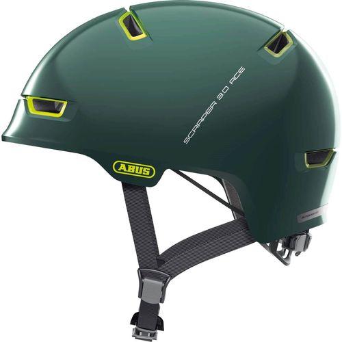 Abus helm scraper 3.0 ace ivy green l 57-62