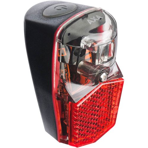 Axa led lamp achterlicht batterij run compact spat