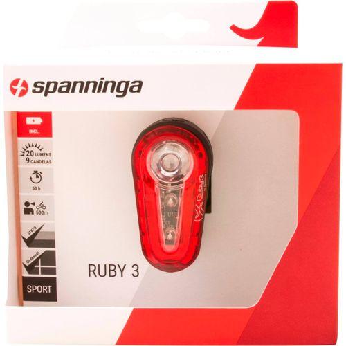 Spanninga achterlicht Ruby 3 batterij zadelpen