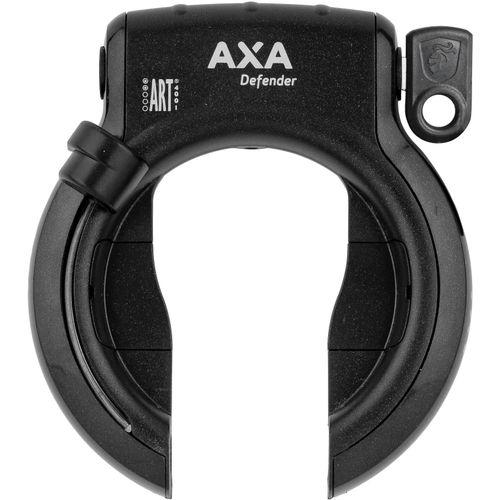 Axa ringslot defender rl spatbord zwart met klapsl