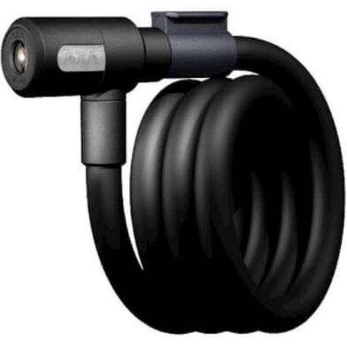 Spiraalkabelslot Newton 120/15 met houder - zwart