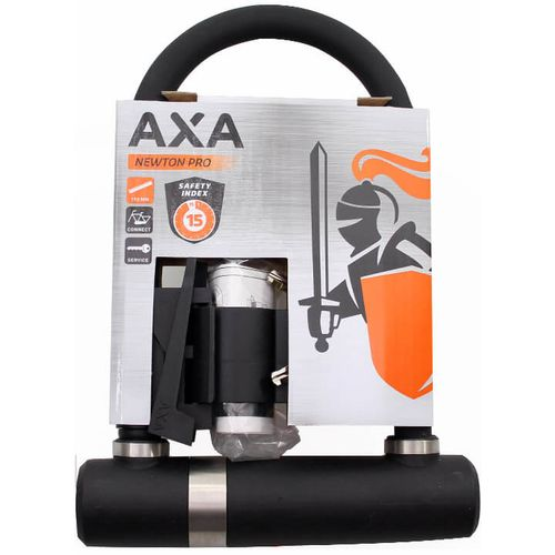 Axa beugelslot newton pro zwart 190mm art3