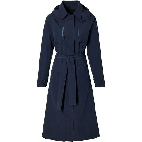Basil trenchcoat Mosse dames Night Blue XL