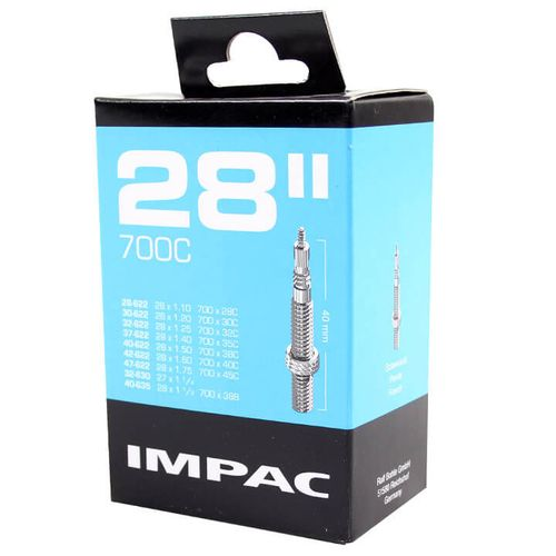 Impac binnenband sv 40mm frans 28/29x1.10-1.75 28/