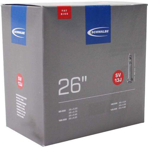 Schwalbe binnenband SV13J Fatbike 26 x 3.50 - 4.80 fv 40mm