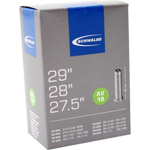 Schwalbe binnenband AV19 27.5 x 2.00 - 29 x 2.40 av 40mm