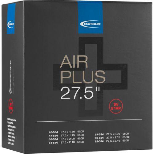 Schwalbe binnenband SV21AP Air Plus 27.5 x 1.50 - 2.40 fv 40mm