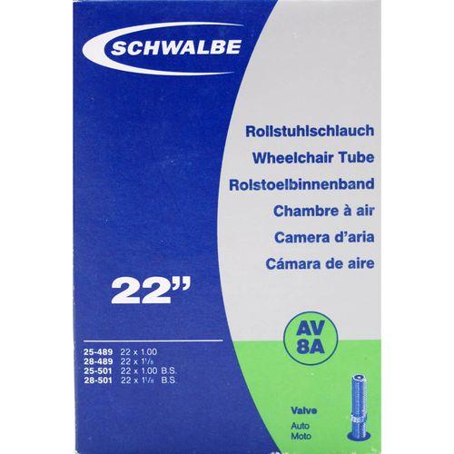 Schwalbe binnenband AV8A 22 x 1.00 - 1 1/8 av 40mm