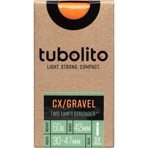 Tubolito binnenband Tubo CX/Gravel All 700c 30 - 47mm fv 42mm