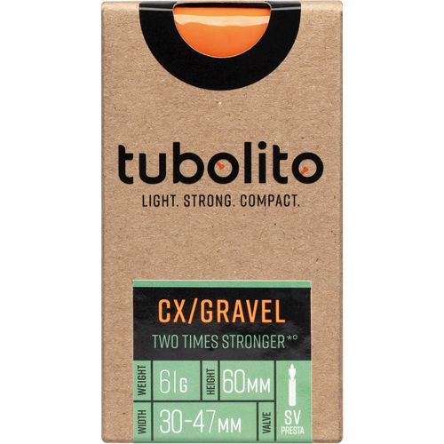 Tubolito binnenband Tubo CX/Gravel All 700c 30 - 47mm fv 60mm