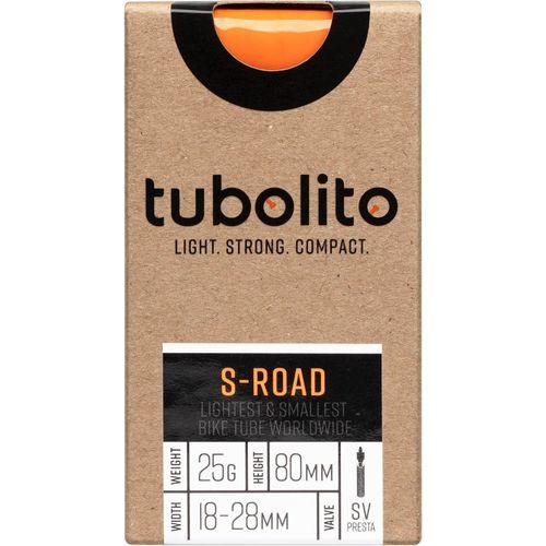 Tubolito binnenband S-Road 700c 18 - 28mm fv 80mm