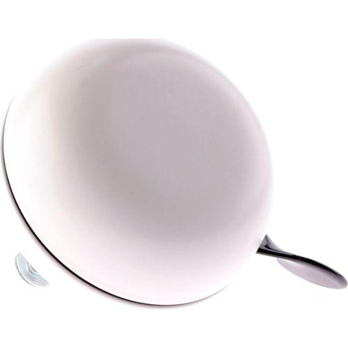 Fietsbel Ding Dong Sauvignon White 80 mm - mat wit