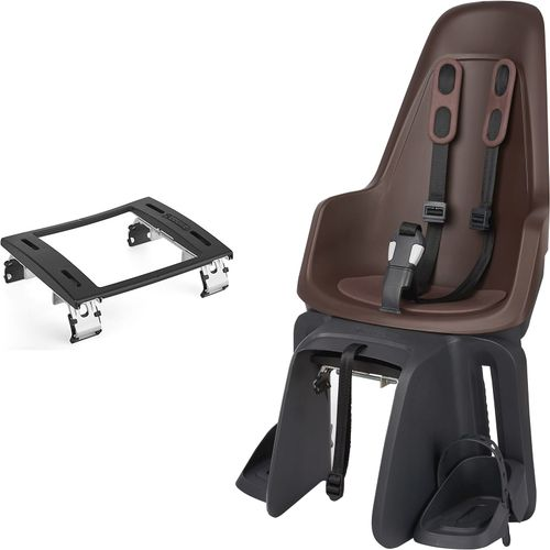 Bobike one maxi bd kinderzitje achter coffee brown