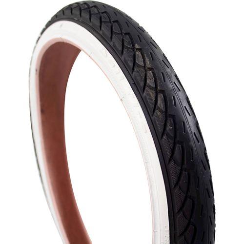Deli Tire buitenband SA-206 16 x 1.75 zw/wit