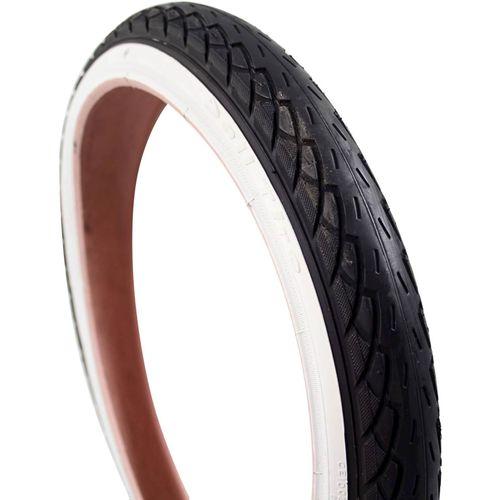 Deli Tire buitenband SA-206 18 x 1.75 zw/wit
