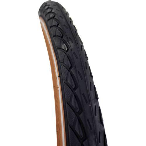 Deli Tire buitenband SA-206 24 x 1.75 zw/caramel refl