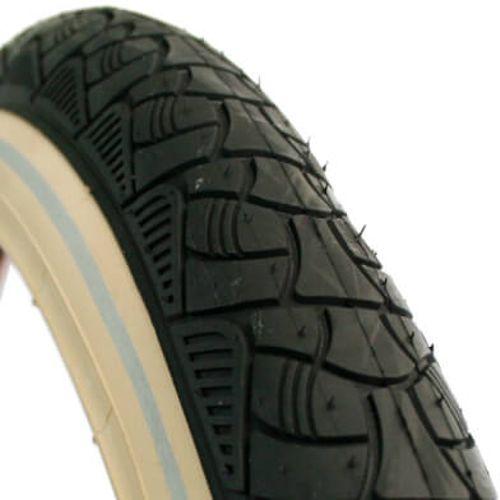 Deli Tire buitenband SA-238 24 x 2.125 zw/creme refl