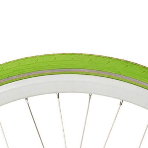 Deli Tire buitenband S-604 28 x 1 1/2 groen refl