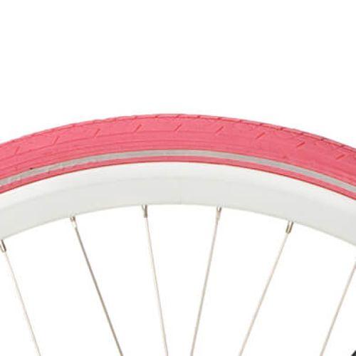 Deli Tire buitenband S-604 28 x 1 1/2 roze refl