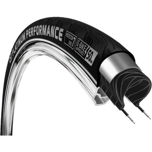 CST buitenband Platinum Performance 28 x 1 3/8 zwart refl
